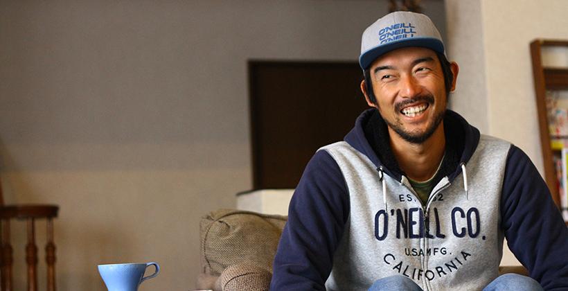 プロサーファー田中樹選手